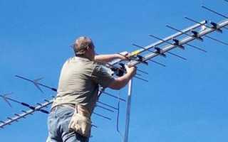 Подключение телевизионных антенн