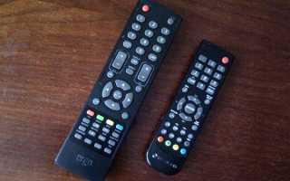 Какой пульт подходит к телевизору dexp