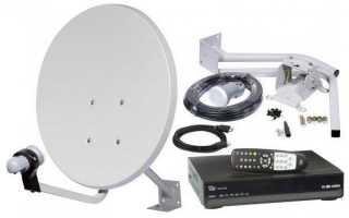Установка и настройка антенны цифрового телевидения t2