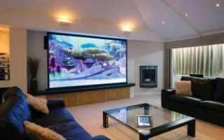 Топ–3 самых больших телевизоров